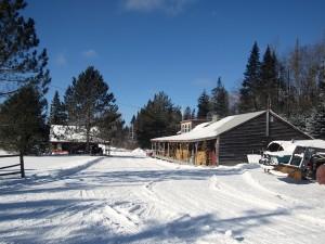 The entrance to Prospect Mountain Ski Area