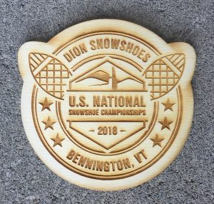 2018 Dion Snowshoes U.S. National Snowshoe Championships Coasters