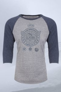 2018 Dion Snowshoes U.S. National Snowshoe Championships Baseball Tees